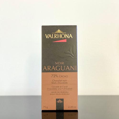 Tablette de chocolat noir - Valrhona