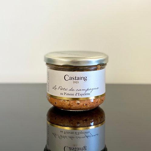 Pâté de campagne au piment - Castaing