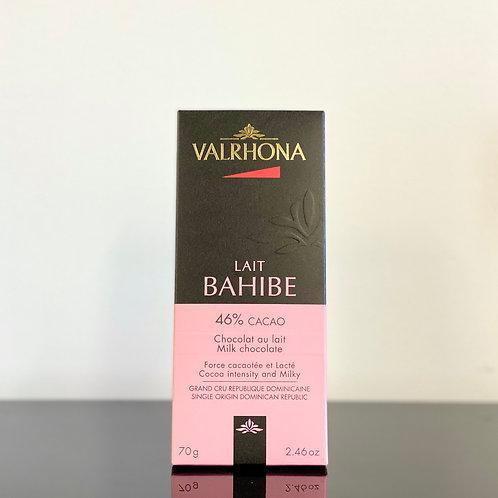 Tablette de chocolat au lait -Valrhona