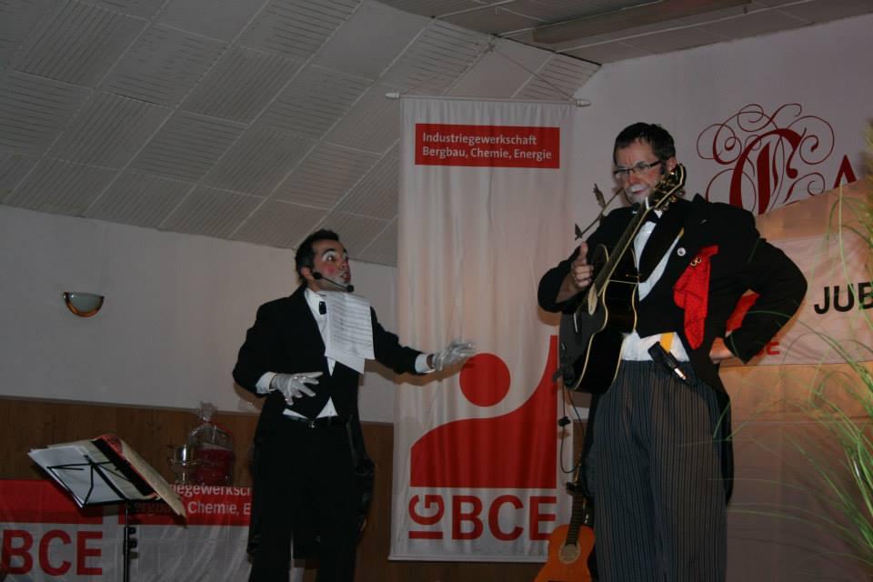 Duo Firlefanz Clown Benni Willi
