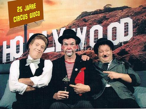 Clown Comedy Circus Gioco Zirkus Musik