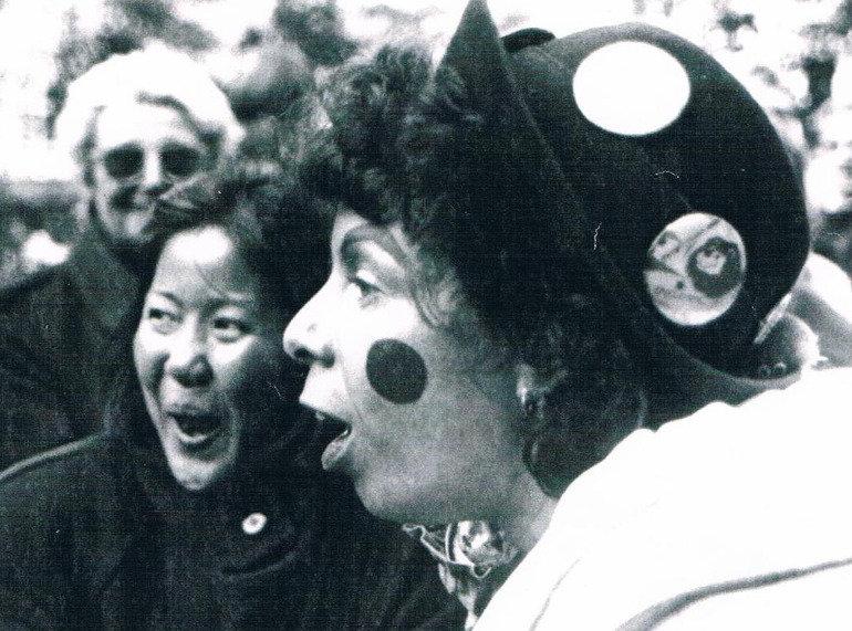 Marga Bäker Clownin Mix Circus Gioco Mitmachzirkus