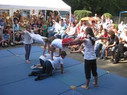 Akrobatik-Kinder