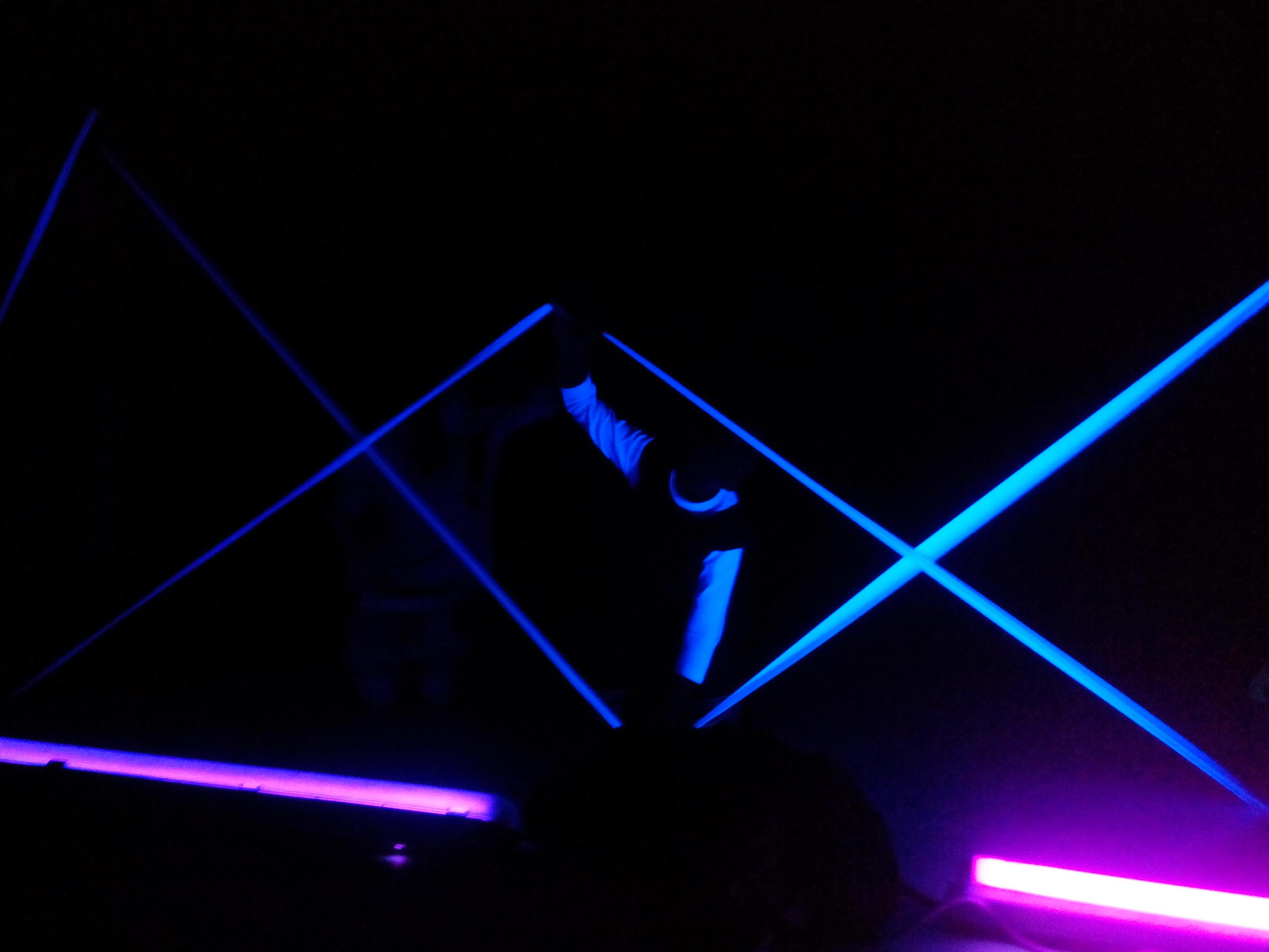 Schwarzlicht-Theater