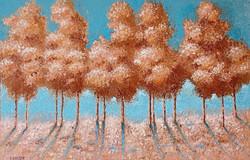 ''Gold landscape'' (2021)