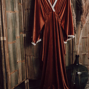 Mii-estilo Boho zwangerschaps jurk (18)