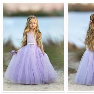 A Hint of Lilac dress