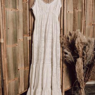Antica Sartoria kanten jurk (22)