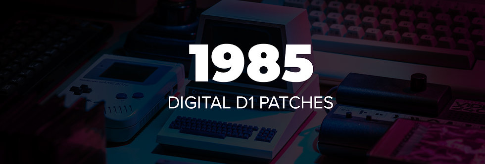 1985 Synths for DIGITAL D1 App