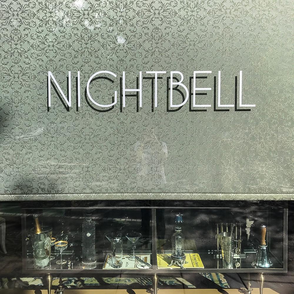 Nightbell restaurant, Asheville, NC.