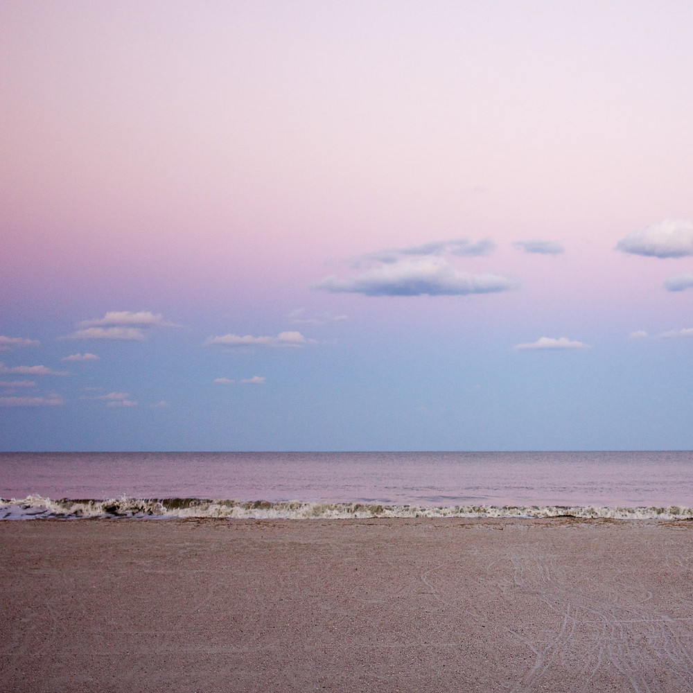 Sunset on the beach in Hilton Head Island, South Carolina.