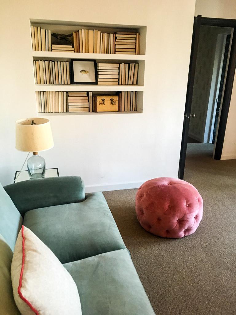 Living room area at Palihouse Santa Monica.