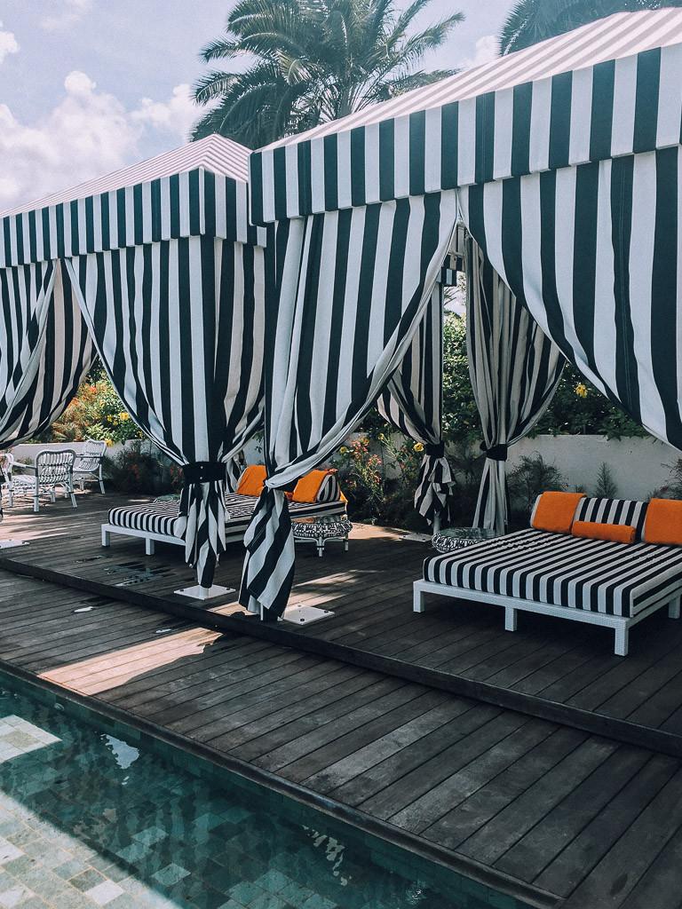 Malliouhana pool cabana.