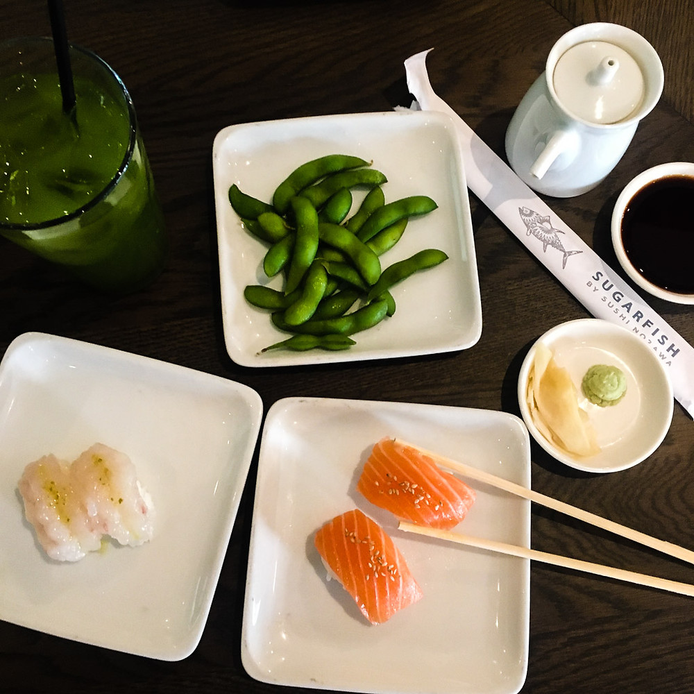 Delicious sushi at the popular L.A. joint Sugarfish.