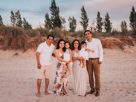 Rosas Family Beach Session