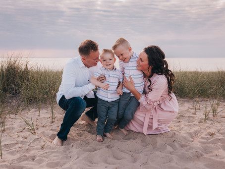 Geans Family Beach Session