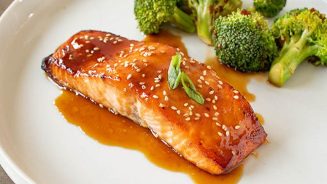 Salmon Terriyaki