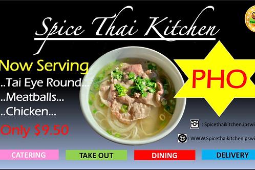 Pho Tai eye round (beef)