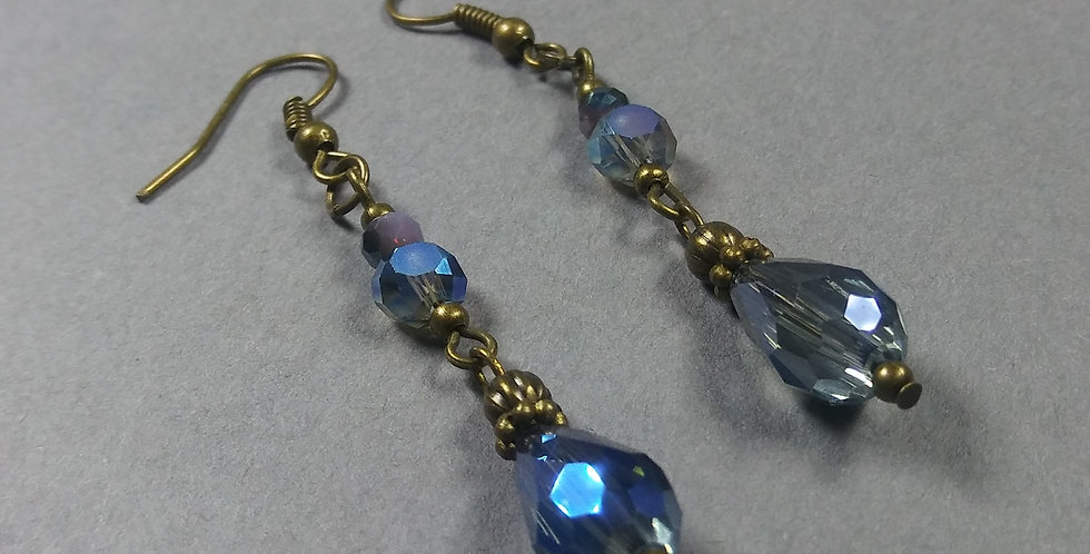 Stormy Blue Earrings