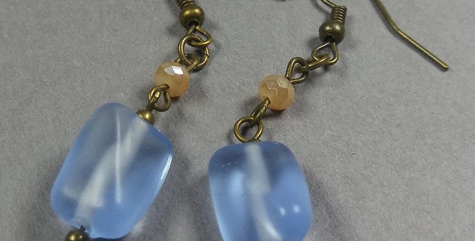 Powder Blue Earrings