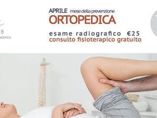 Aprile: appuntamento con l'ortopedico