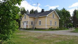 Alantalo Sodankylässä keskellä kylää