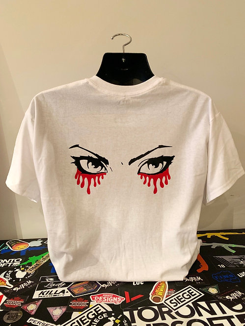 Bloody Eyes Halloween Tee