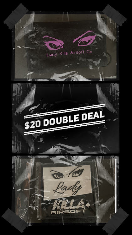 $20 DOUBLE DEAL