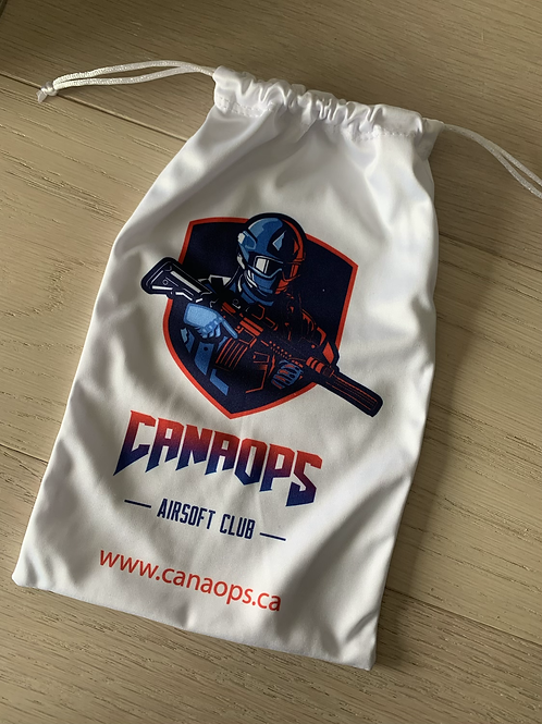 CanaOps drawstring pouch