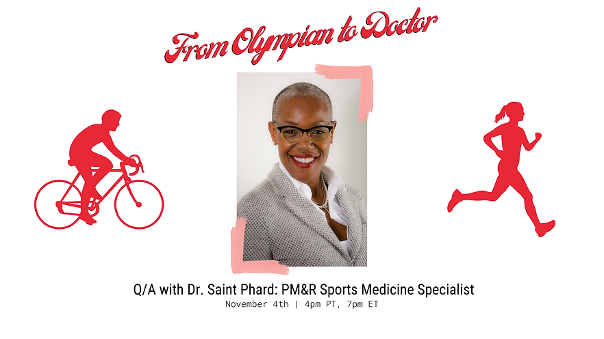 From Olympian to Doctor Dr. Saint Phard on Resilience and Race (Flier).png