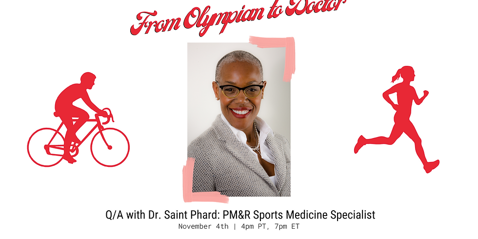 From Olympian to Physician: Q/A with Dr. Saint-Phard