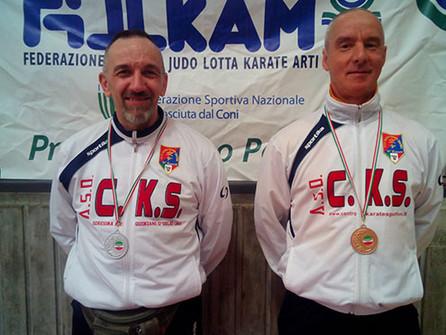 CAMPIONATO ITALIANO MASTER FIJLKAM - QUILIANO (SV) - 02 MAGGIO 2015