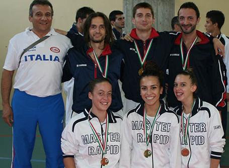 CAMPIONATO REGIONALE A SQUADRE SOCIALI KATA / KUMITE - SERINA (BG) - 07 OTTOBRE 2012