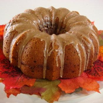 Pumpkin Pecan Cake - Serves 6-8 Guests