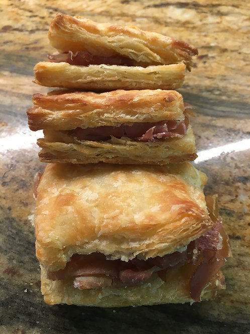 Old Fashioned Ham Biscuits - 2 Pieces