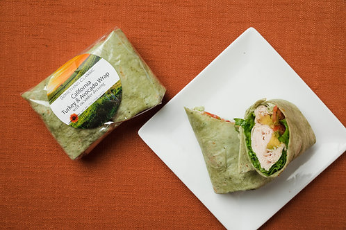 California Turkey & Avocado Wrap