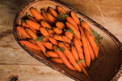 Honey-Dill Glazed Baby Carrots