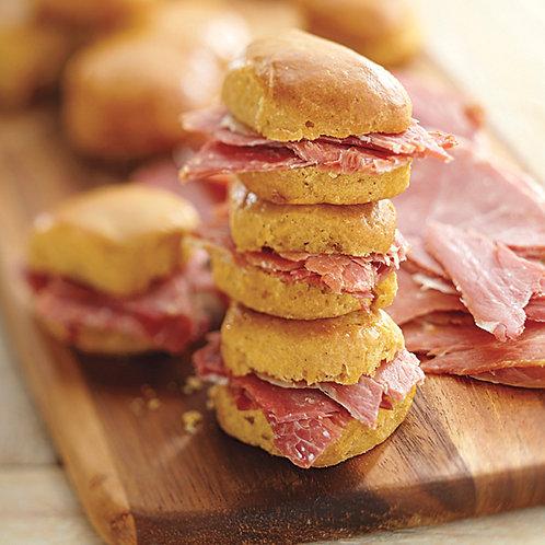 Savory Ham Biscuits