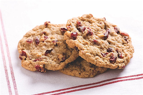 Oatmeal Walnut Cookie with Cranberries