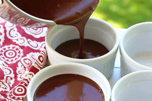 Hot Chocolate Pots de Cremes (GF)