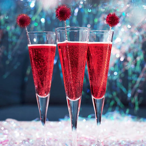 Holiday Sparkler - Cathead Vodka, Cranberry Pomegranate Sage Syrup & Prosecco