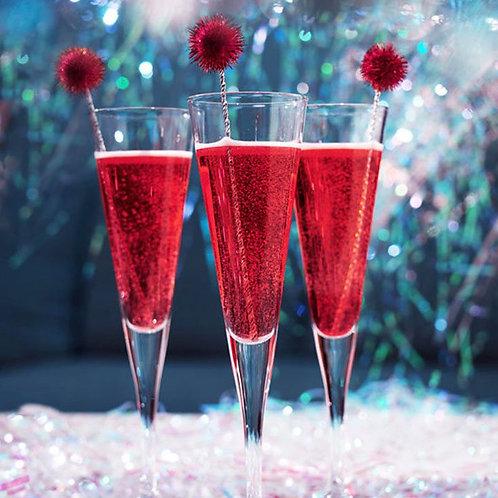 Holiday Sparkler - Cathead Vodka, Cranberry Pomegranate Sage Syrup & Prosecco