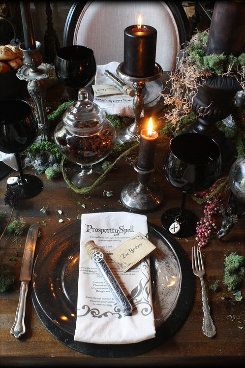 Spellbound Dinner for Two Guests -  October 31 Special