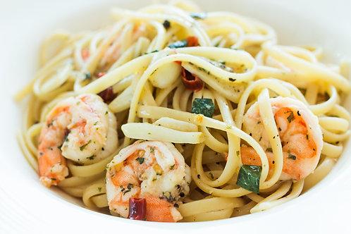 Shrimp Scampi Dinner Package for Two