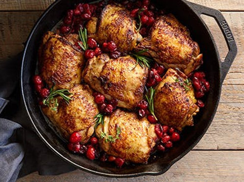 Dinner Party Balsamic Cranberry Rosemary Chicken