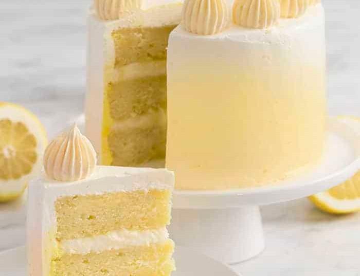 Lemon Pound Cake with Mascarpone Filling