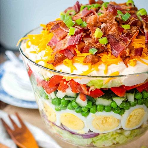Seven Layer Salad