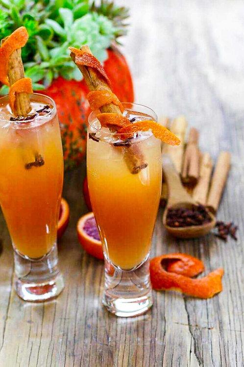 Fireball Cider Cocktail  Serves 2