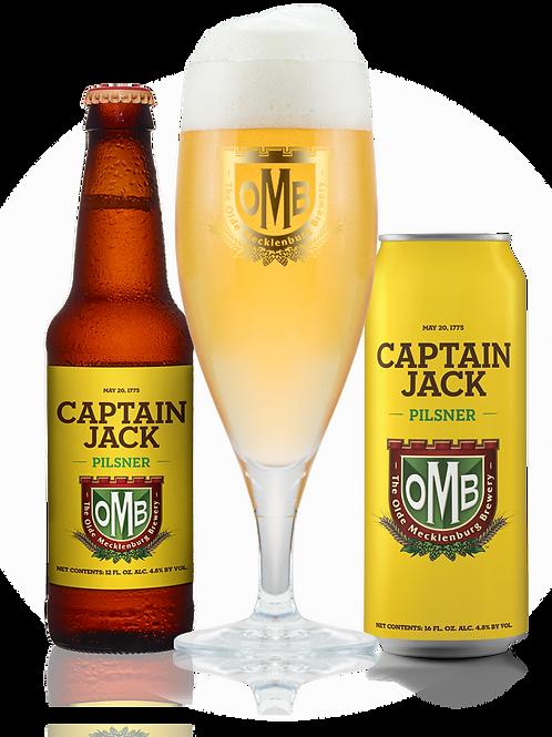 OMB CAPT JACK Pilsner (6 Pack)