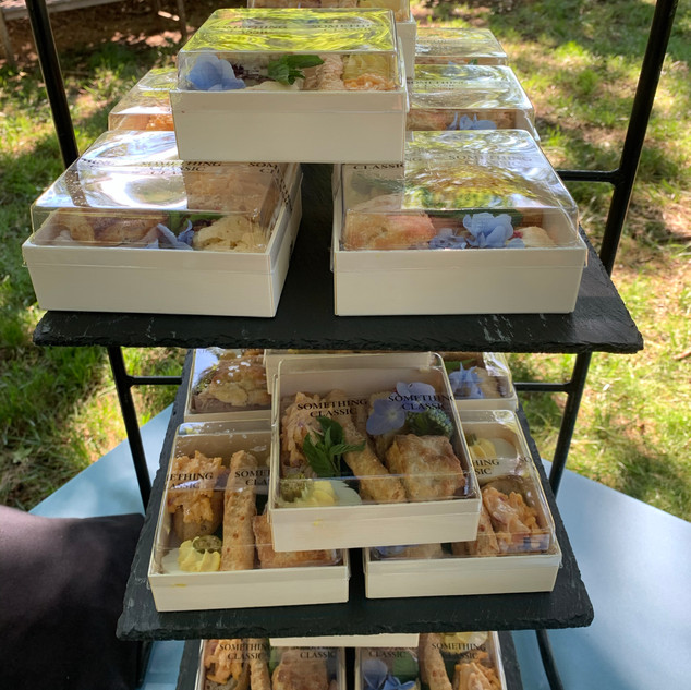 Hors d'Oeuvres Boxes